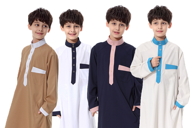 kids muslim clothing