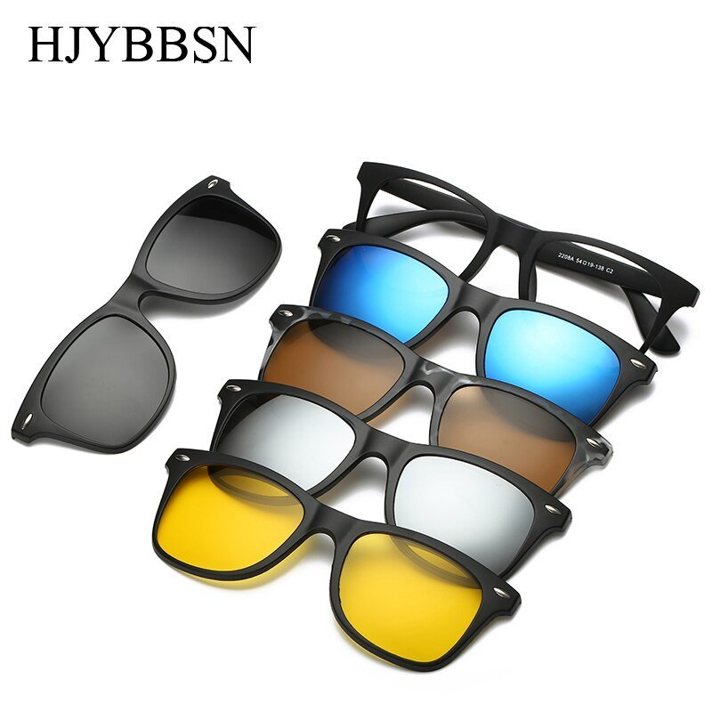 Anti-Reflective Polarized Lenses & Plastic Frames Sunglasses with UV400