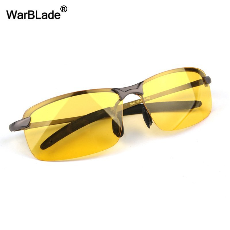 Polarized Yellow Lens & High-end Plastic Frames Night Vision Sunglasses