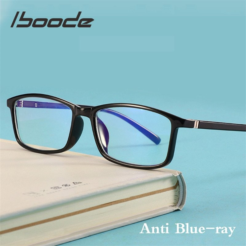Anti Blue Ray Blocking Computer Gaming Lenses & Plastic Frames Glasses