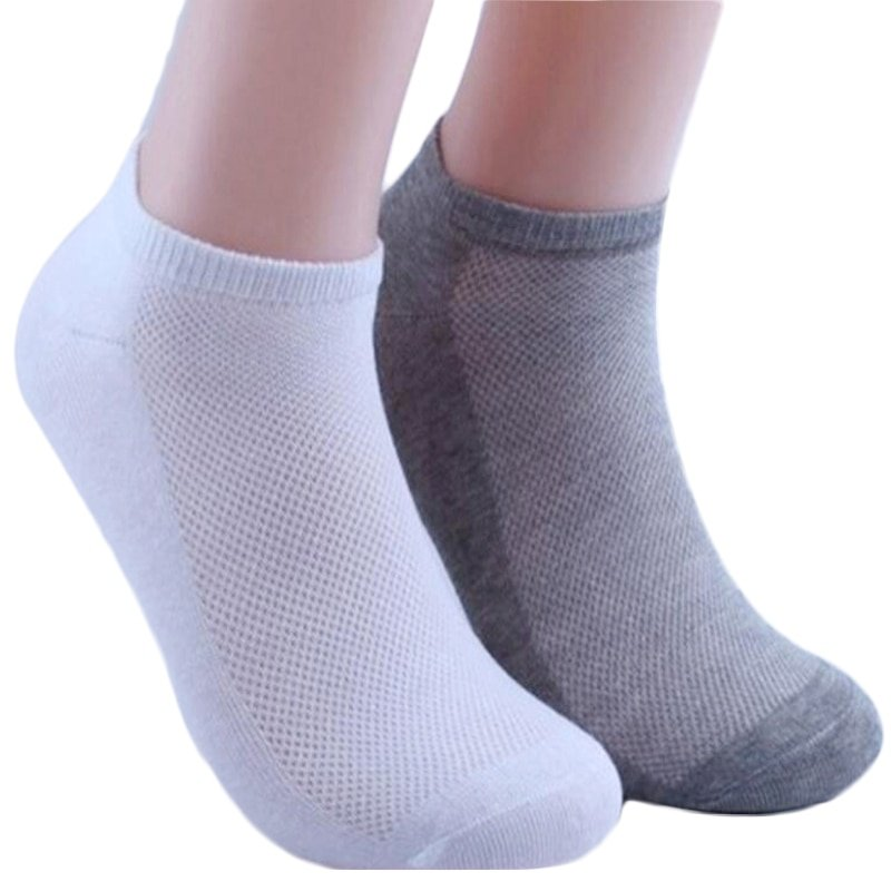 5Pair Soft Comfortable & Ankle Length Breathable Cotton Socks