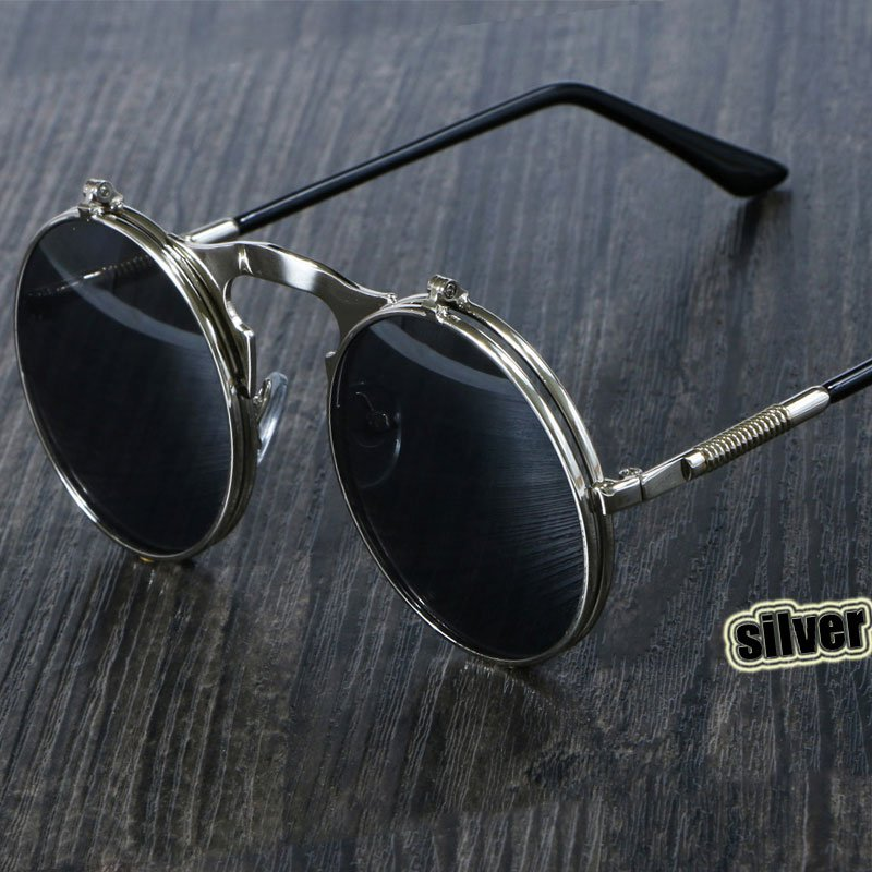 Double Alloy Metal Frames & Photochromic UV400 Treated Lens Sunglasses