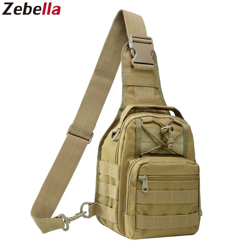 Camouflage Single Strap Soft & PU + Polyester Crossbody Bags with Slot Pocket