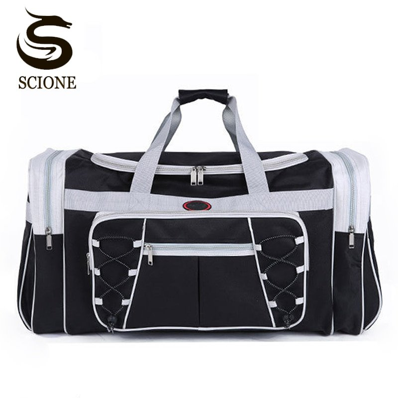 Oxford Waterproof zipper & Soft Travel Luggage Bags with Large Capacity
