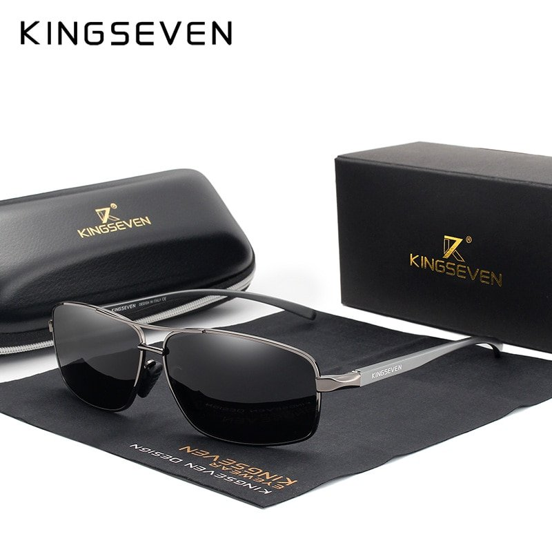 Aluminium Magnesium Frames & Polycarbonate Lens Sunglasses with Polarized