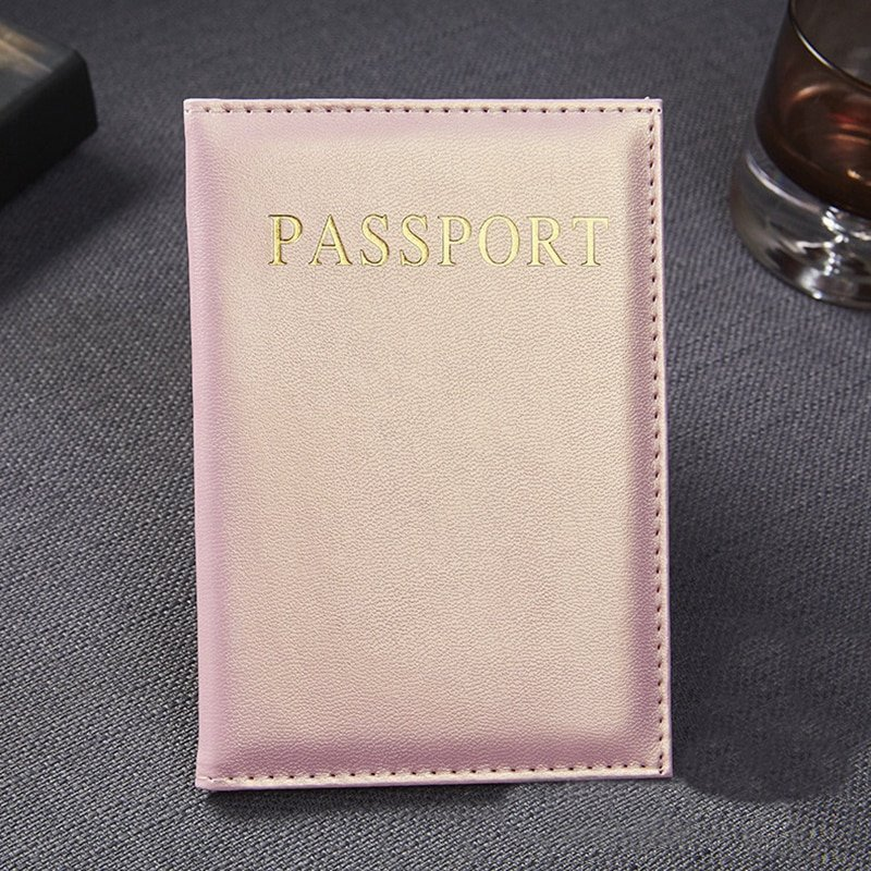 Casual Foldable PU Leather & Travel Accessories Card/Passport Covers
