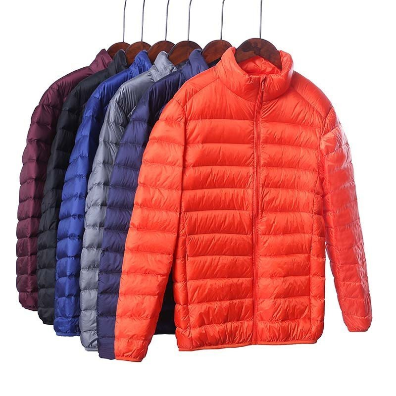 Candy Solid Color Plus Size 4XL & Microfiber + Polyester Down Coats