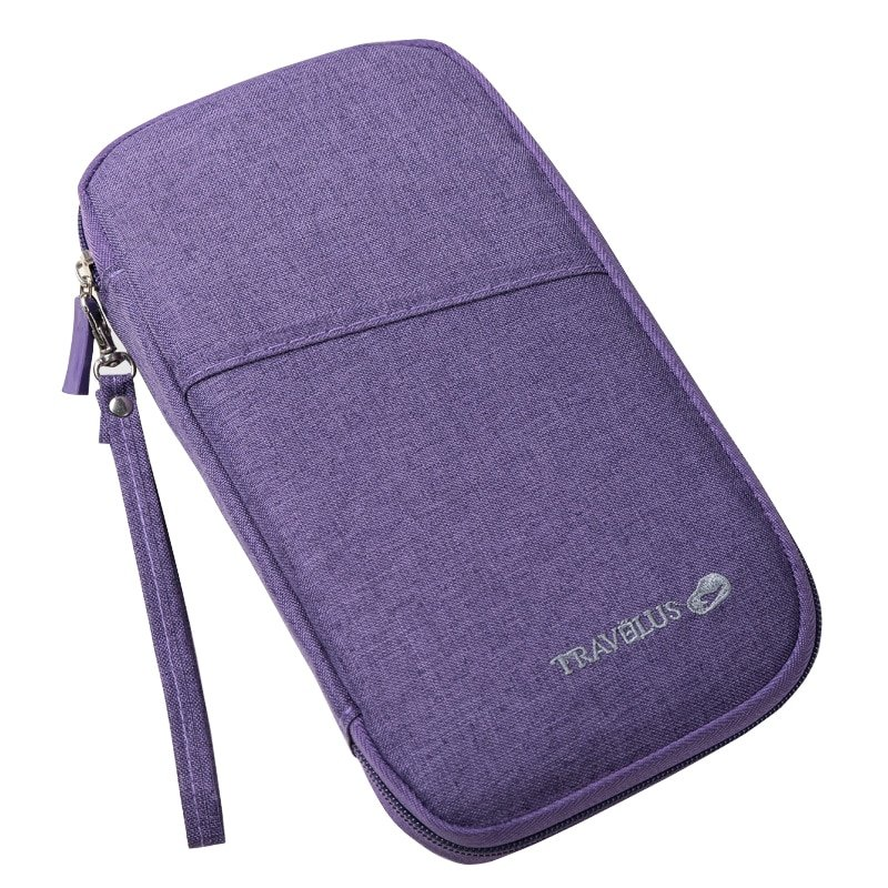 Oxford Multi-color Travel Accessories Passport/Card Holder with Waterproof