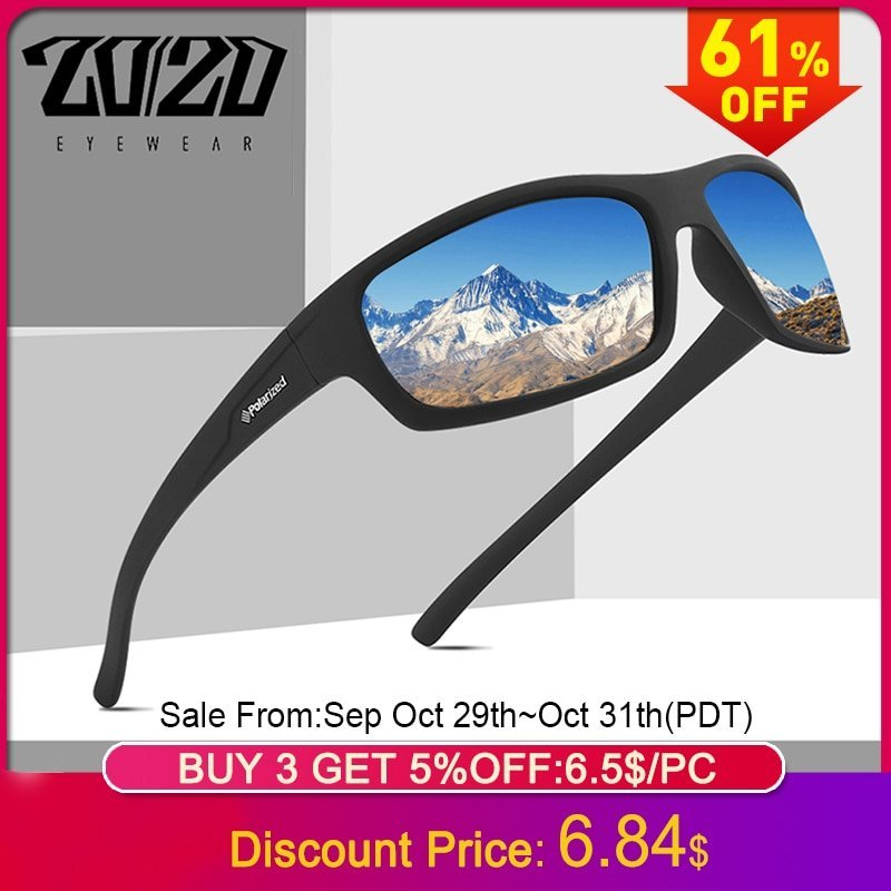 Multi-Color Plastic Frames & Polycarbonate Lense Sunglasses with Anti-glare
