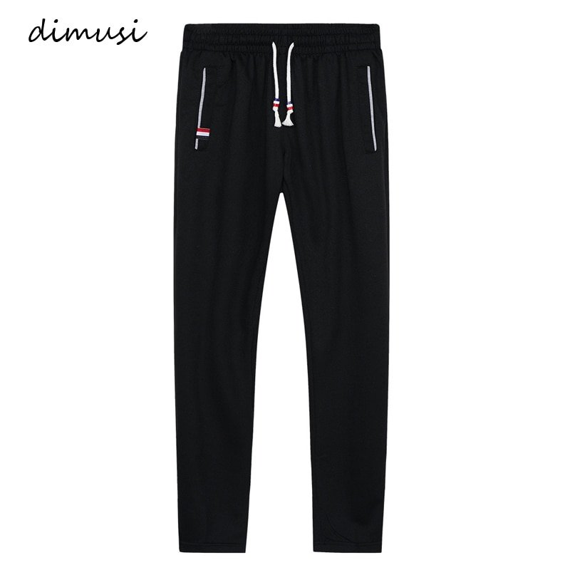 Plus Size 6XL Midweight & Regular Fit Sweatpants with Elastic Waist