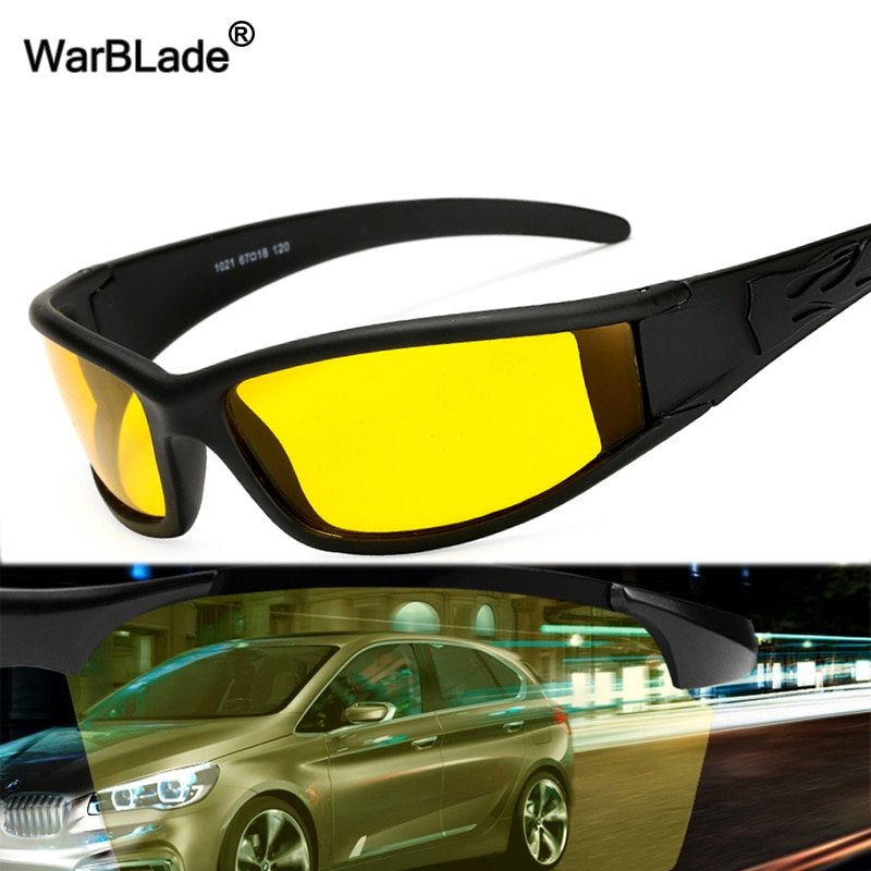 New Polarized Lenses & Alloy Frames Night Vision Glasses with UV Protection