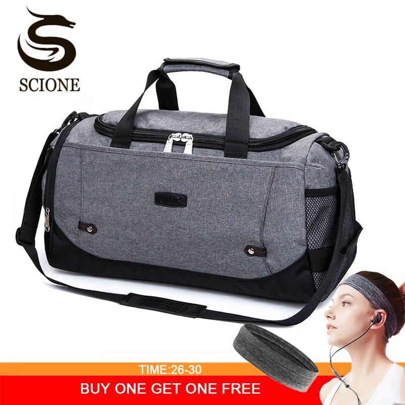 Multi-color Nylon waterproof & Soft Travel Hand Luggage with Adjustable Strap
