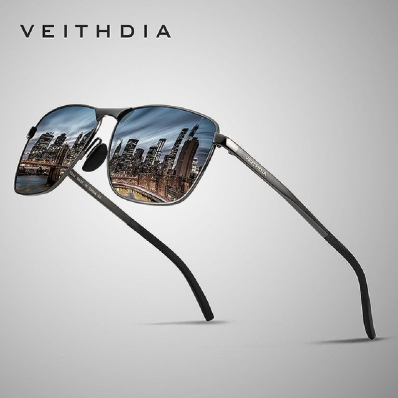 Metal Alloy Frames & Polycarbonate Lens Sunglasses with Anti-Reflective