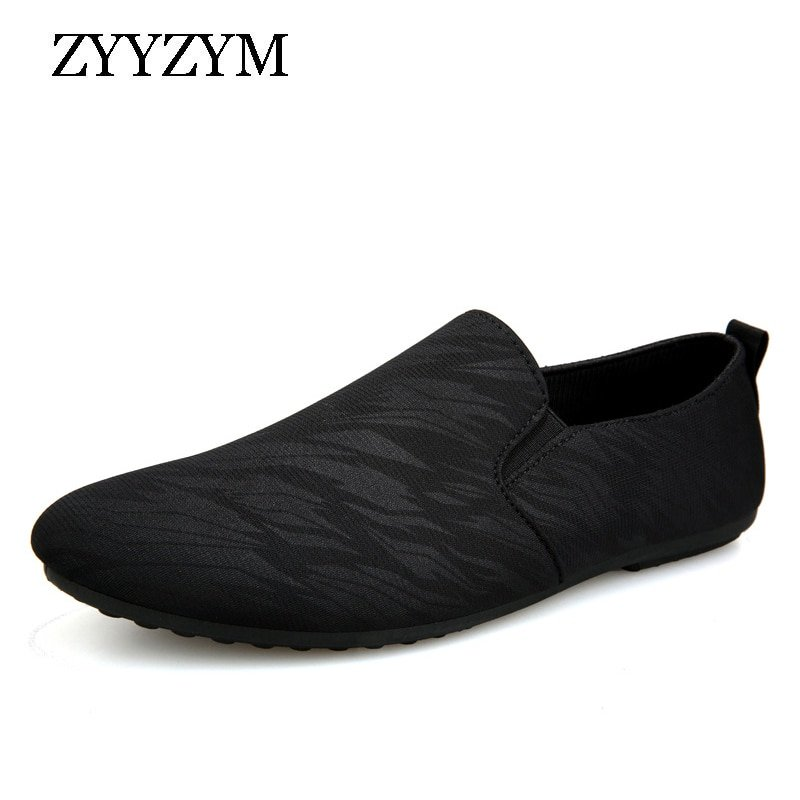 Casual Lightweight Canvas + EVA & Breathable Loafer Shoes with Pointed Toe