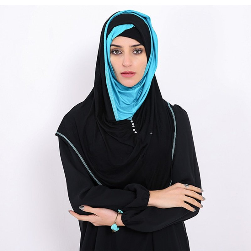 Casual Modal + Cotton Fabric & Breathable Soft Instant Hijab