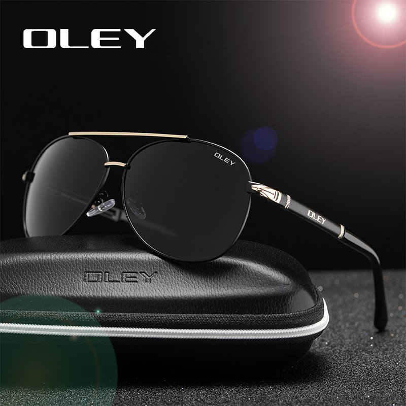 Stainless Steel Frames & Anti-Reflective PC Lens Sunglasses with Oval Shape