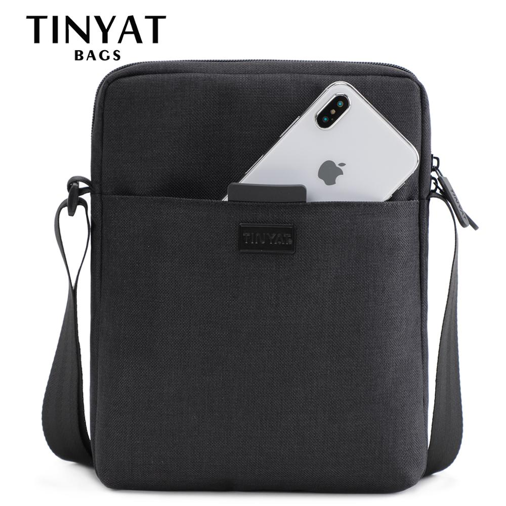 Lightweight Solid Pattern & Nylon + Polyester Crossbody Bags with Waterproof