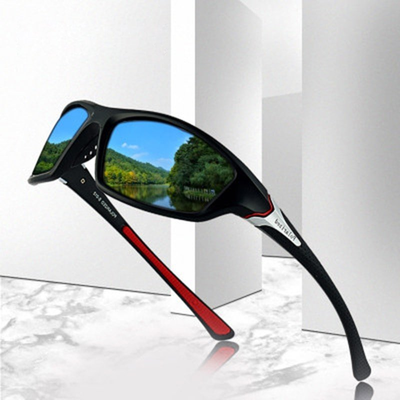 TAC Polarized Lenses & Plastic Frame Sunglasses with Anti-Reflective