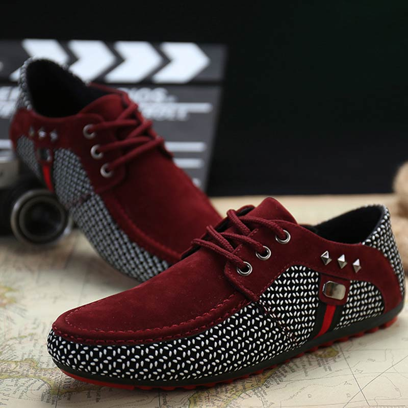 Breathable Flat Heel Soft & Round Toe Loafer Shoes with Lace-up