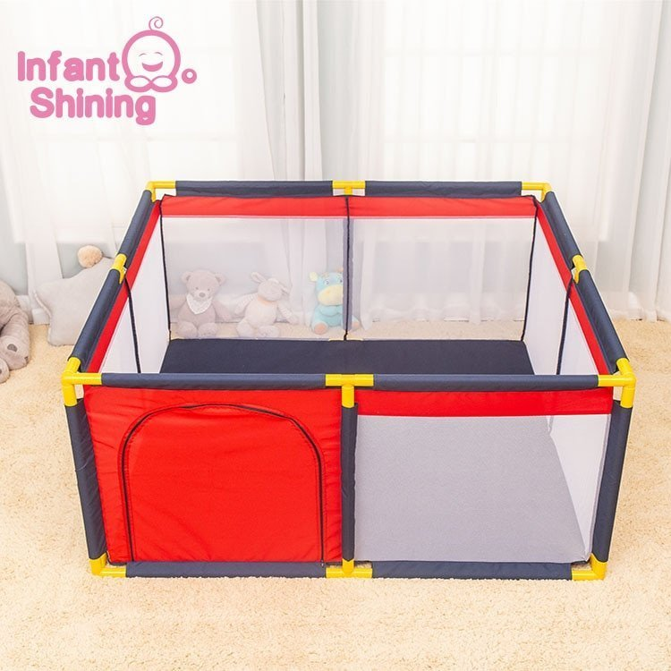Eco-Friendly Thick PVC Playpens Fence Ball Pits Toy with 3 Colors