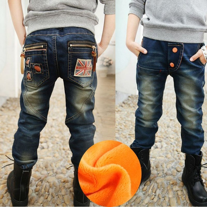 Casual Regular Fit Mid Waist & Blue Color Elastic Waist Jeans with zipper