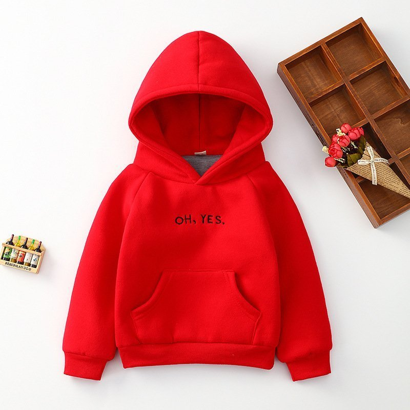 3 Colors Cotton + Polyester Thick & Soft Full Sleeve Hoodies Pullover