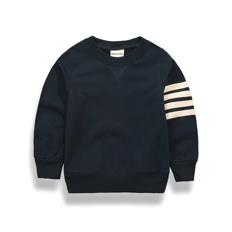 Navy/Gray Color Cotton + Polyester & Full Sleeve Sweatshirts Pullover