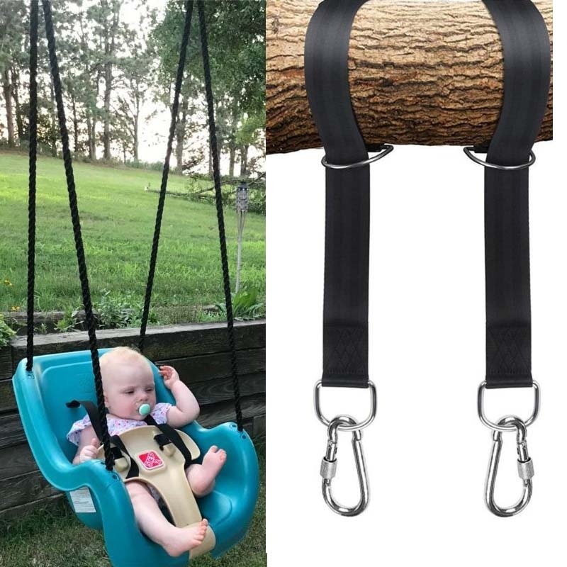 Easy Installation Hanging Straps Robe for Swings Carry with Safer Lock