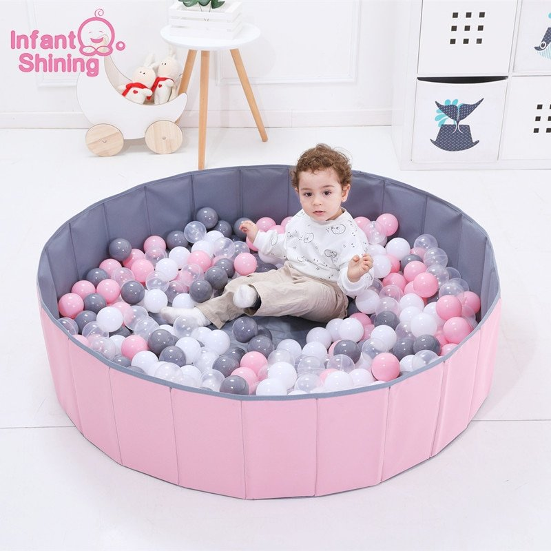 Foldable Oxford Cloth Ocean Ball Playpen Toy with Washable