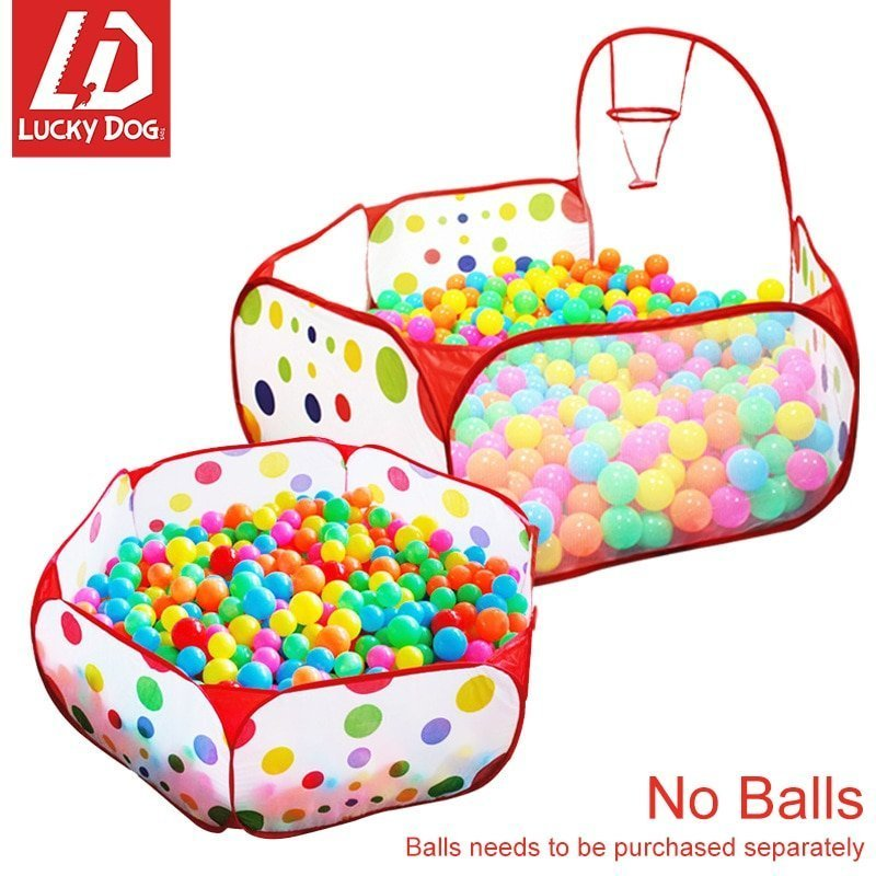 Basketball Hook Ocean Ball Pit Playpen Toy Tents for Childrens