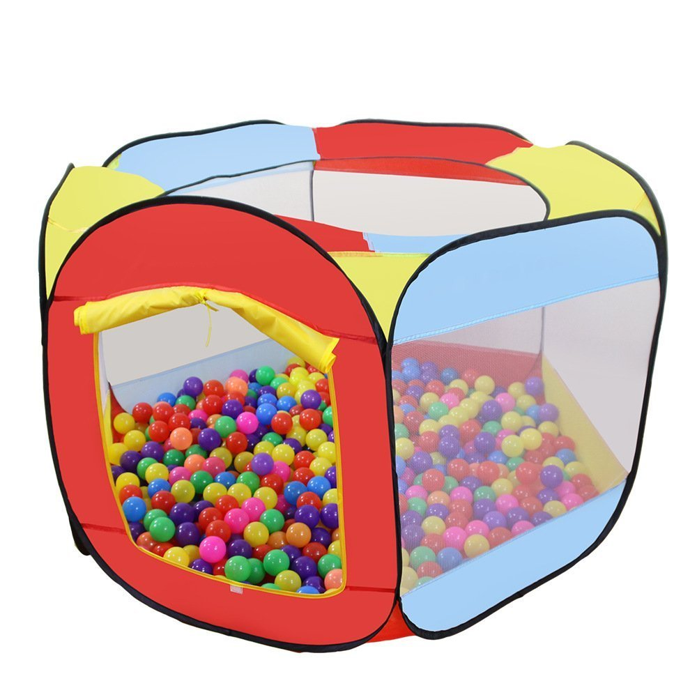 Colorful Portable Ocean Ball Pits Game Tent Toys with Safe Fabric