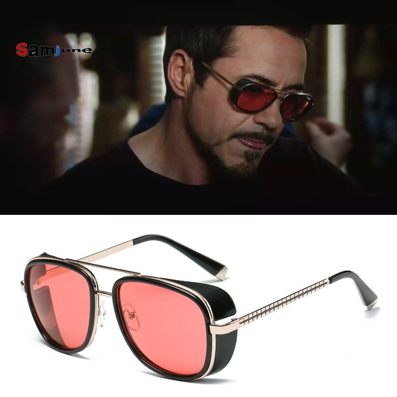 Mirror Polycarbonate Lenses & Metal Alloy Frame Sunglasses Eyewear