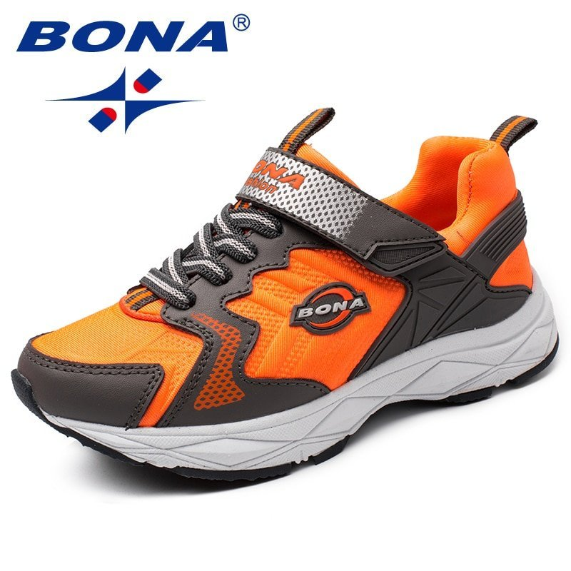 Breathable Synthetic + EVA Soft & Comfortable Sneakers with Flat Heel