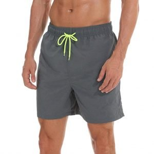 5 patterns simple inner print quick dry Swimming Trunks 1